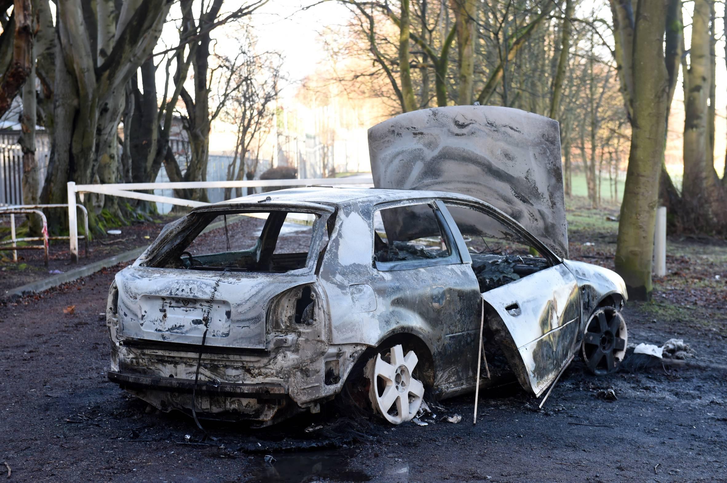 Burnout out car 3