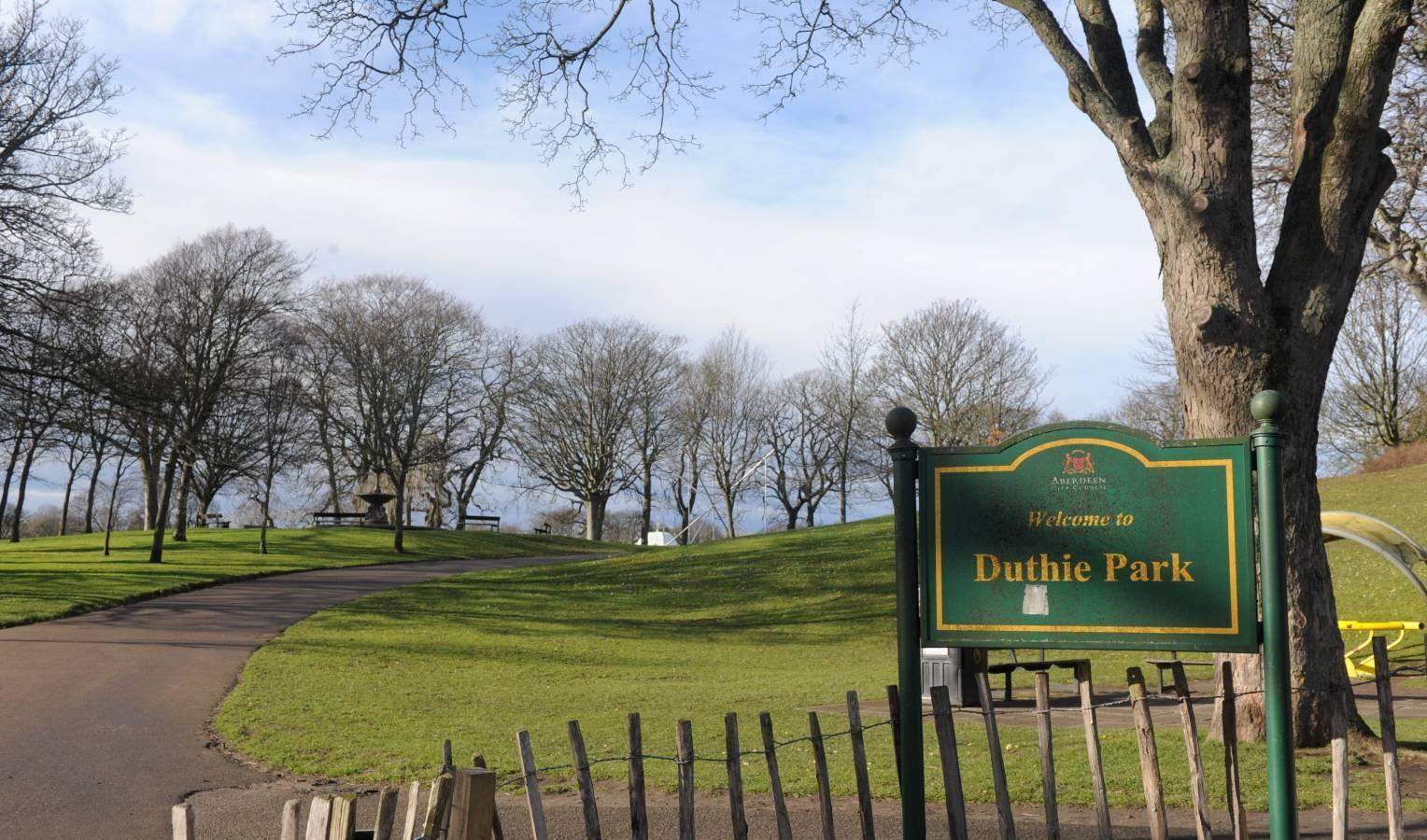 Duthie Park.