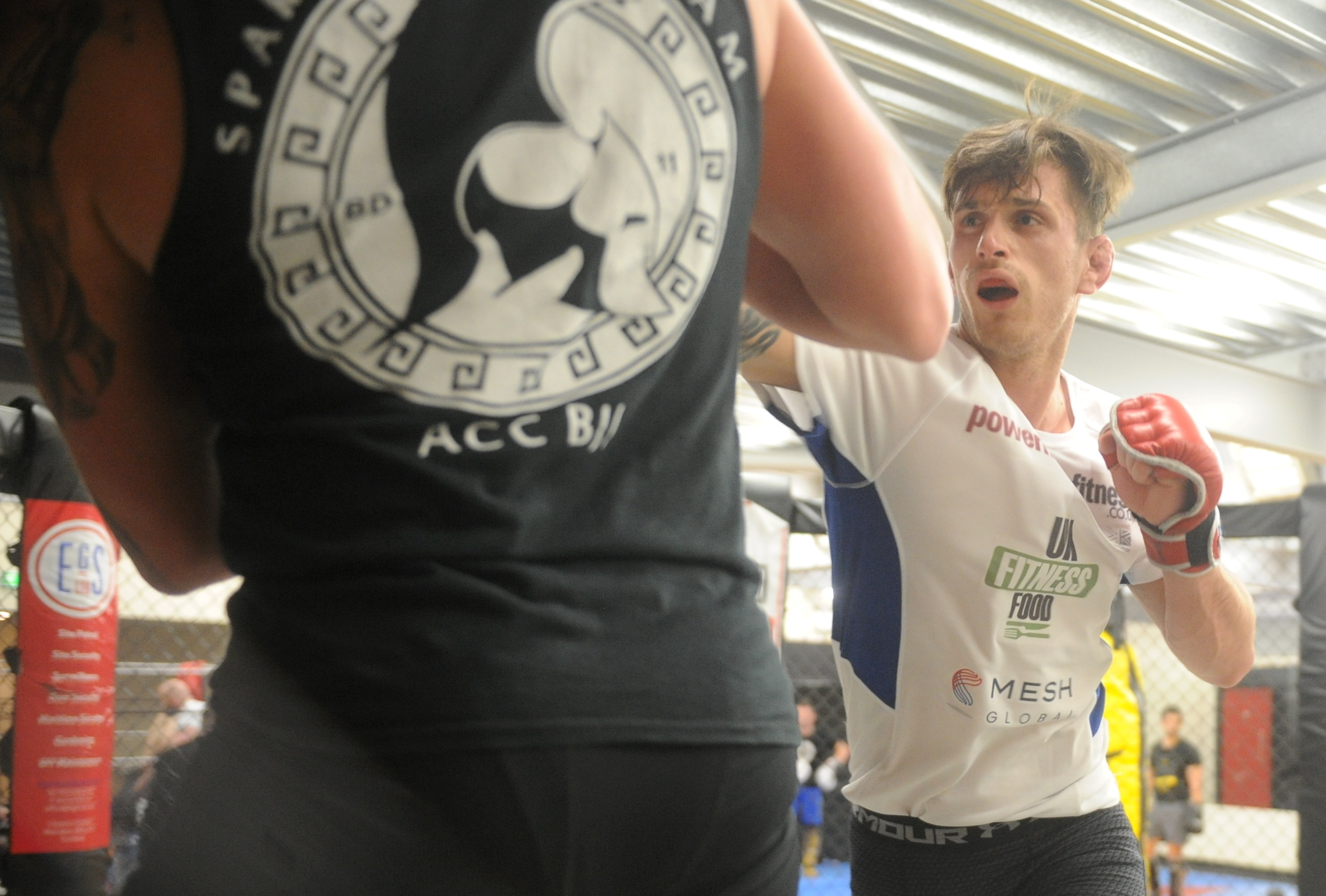Aberdeen MMA fighter Paull McBain.