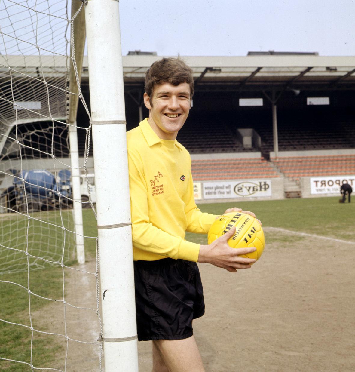Bobby Clark in 1970.