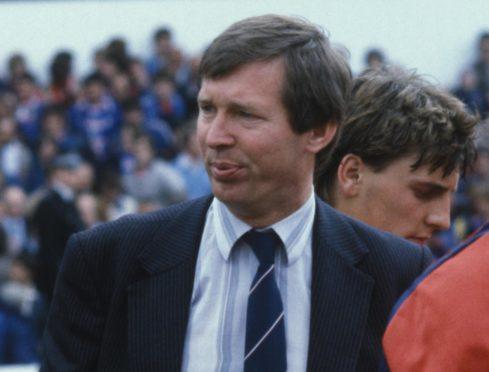 Alex Ferguson in 1982.