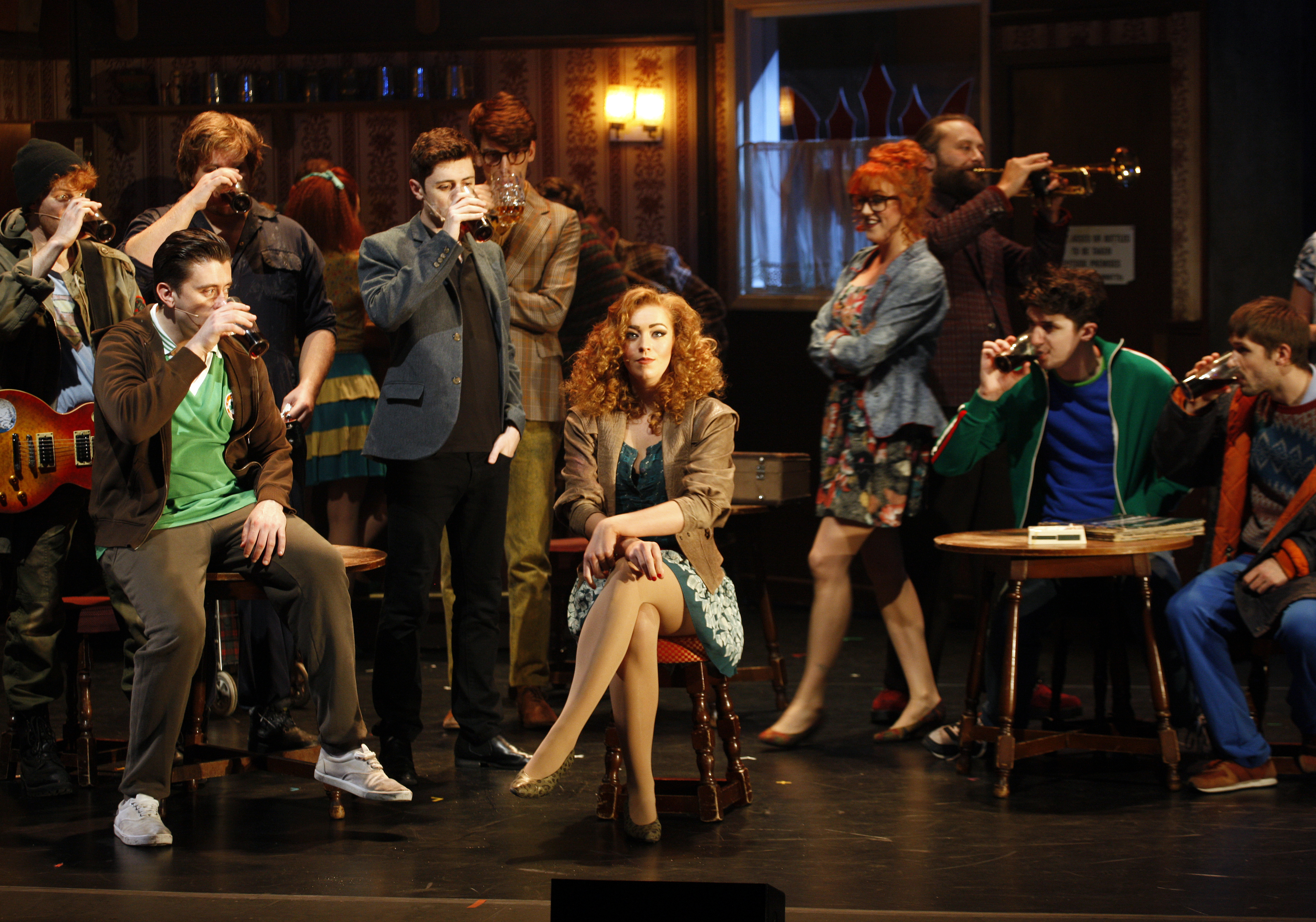 drama: a scene from the commitments