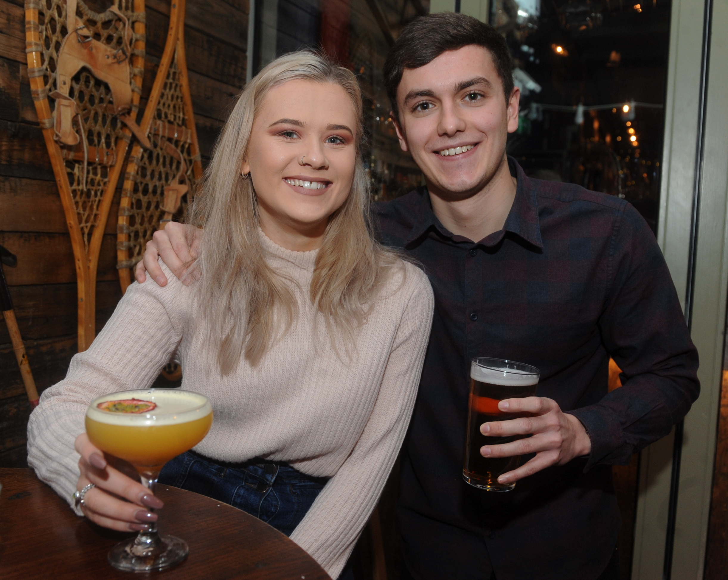 Revolution: Catriona Sweeney and Lewis Doherty