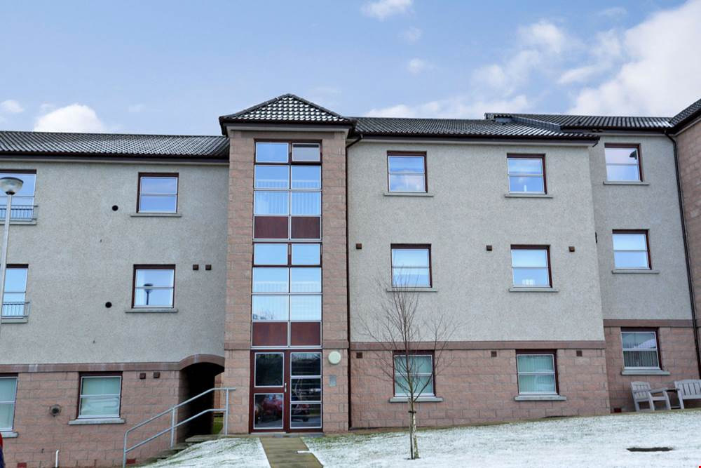 The apartment at 81 McIntosh Crescent, Dyce.