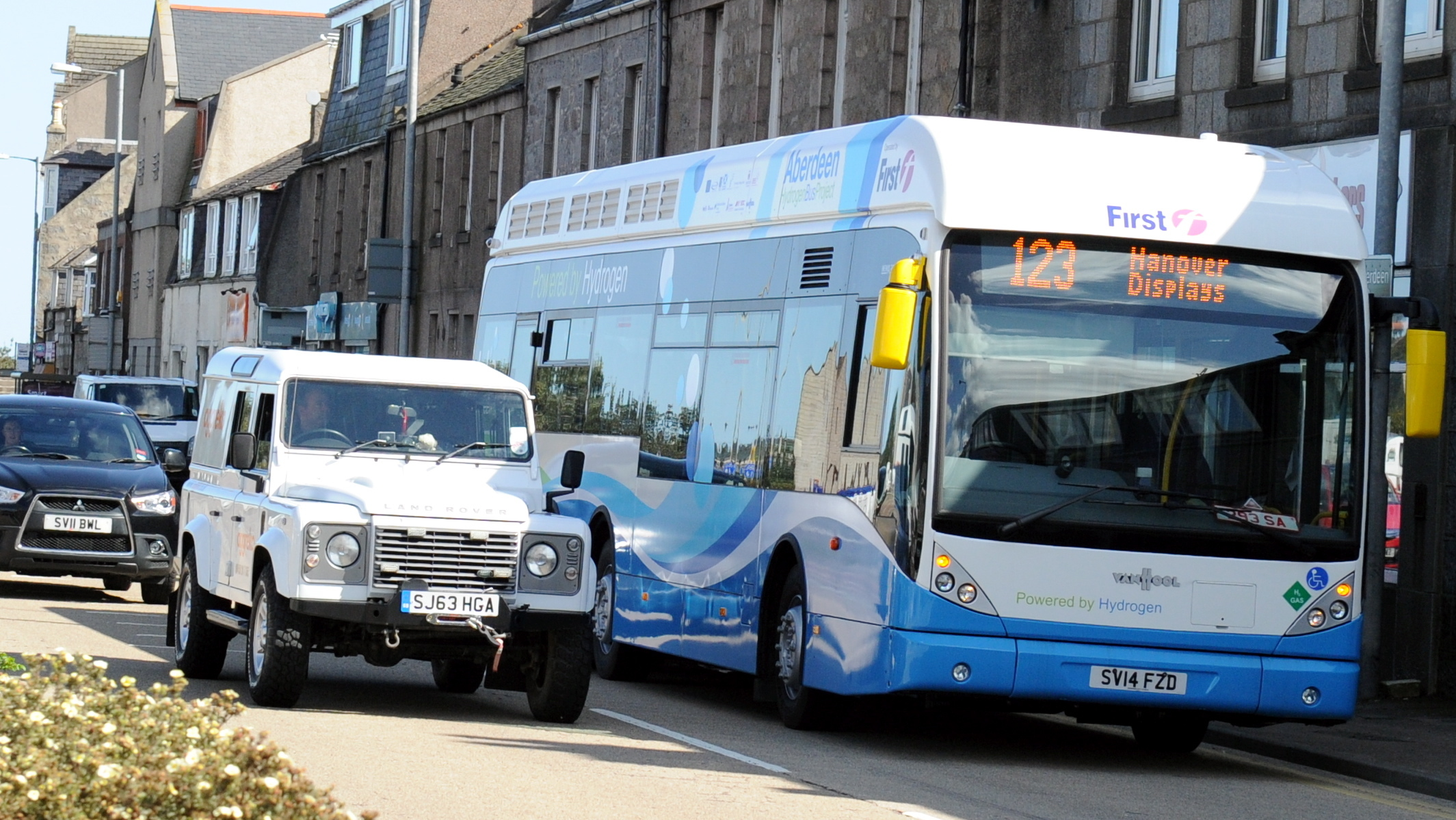 Aberdeen City Council plans to expand its fleet of hydrogen buses.