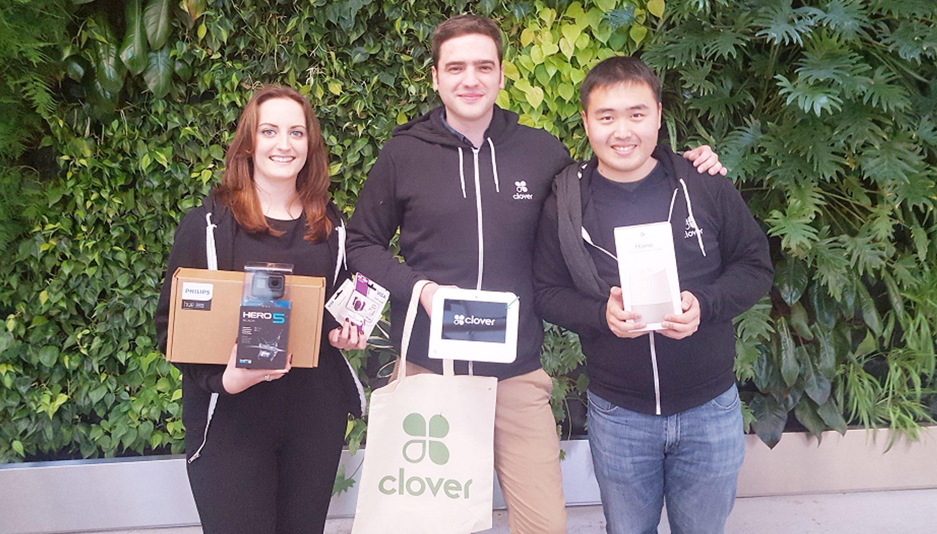 Philippa Christie, her boyfriend Dan Chapman and Qi, their colleague.