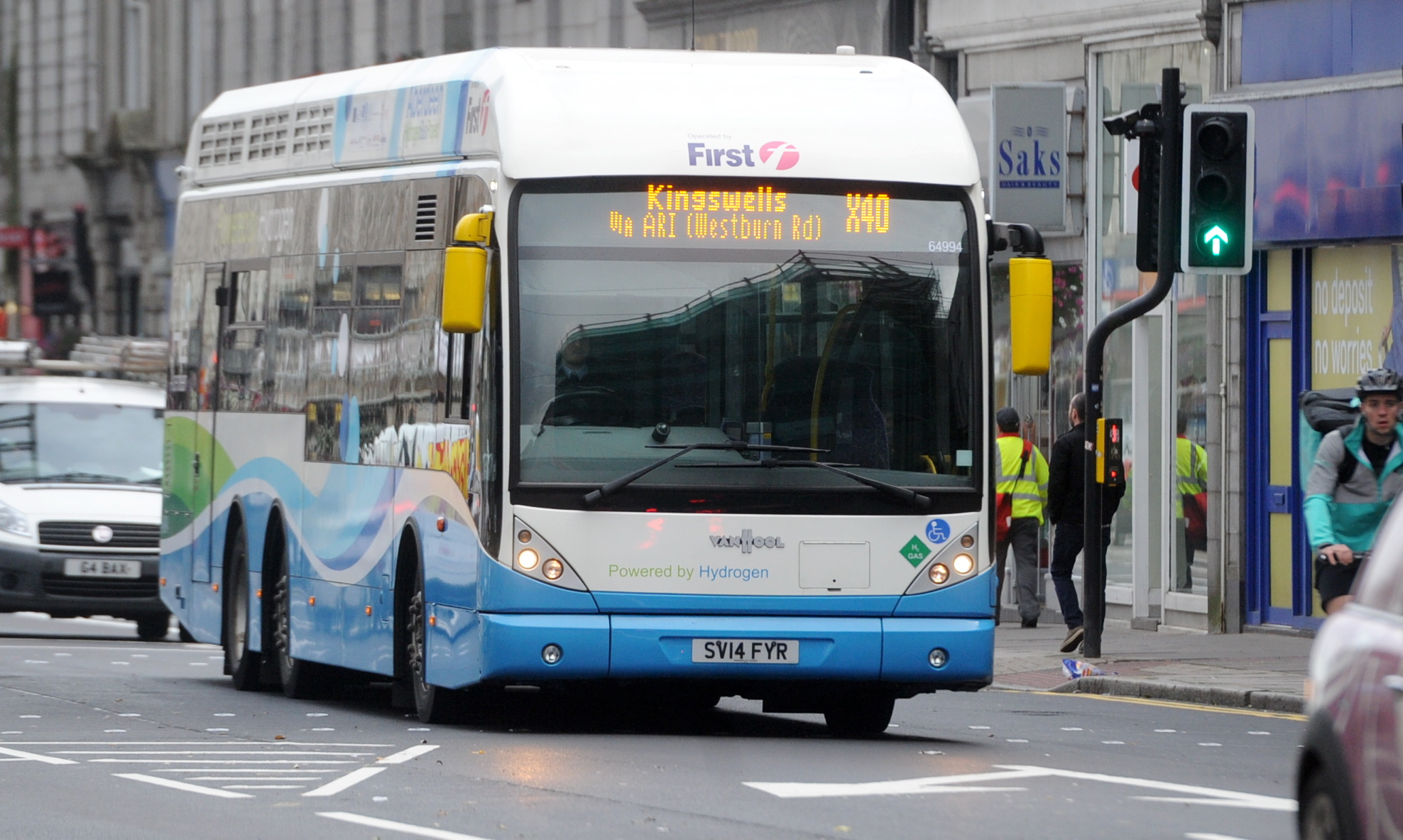 PULLED:  First Aberdeen decided to stop the  X40 bus  that serves Kingswells.