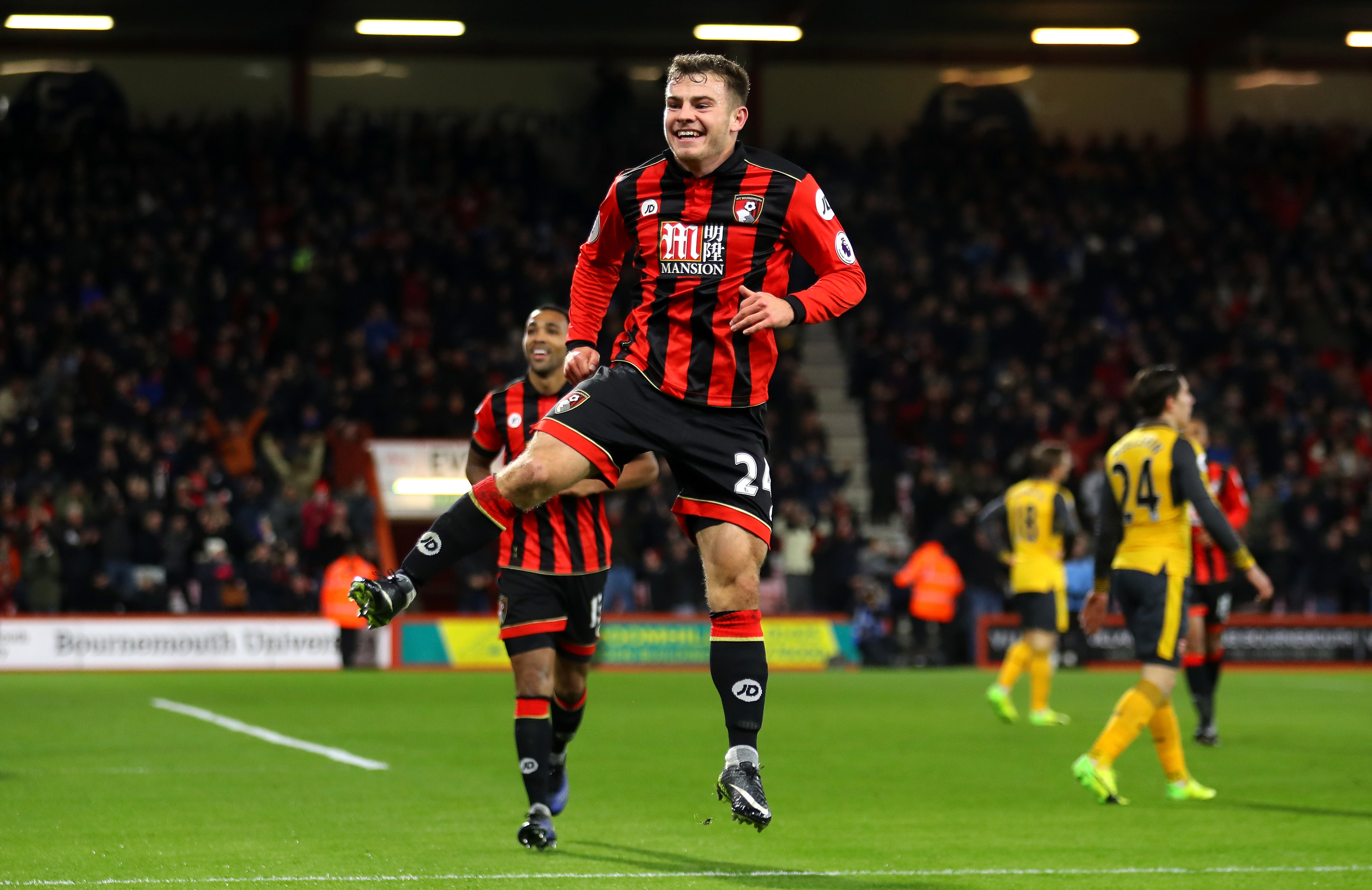 Former Aberdeen man Ryan Fraser has been in fantastic form for Bournemouth.
