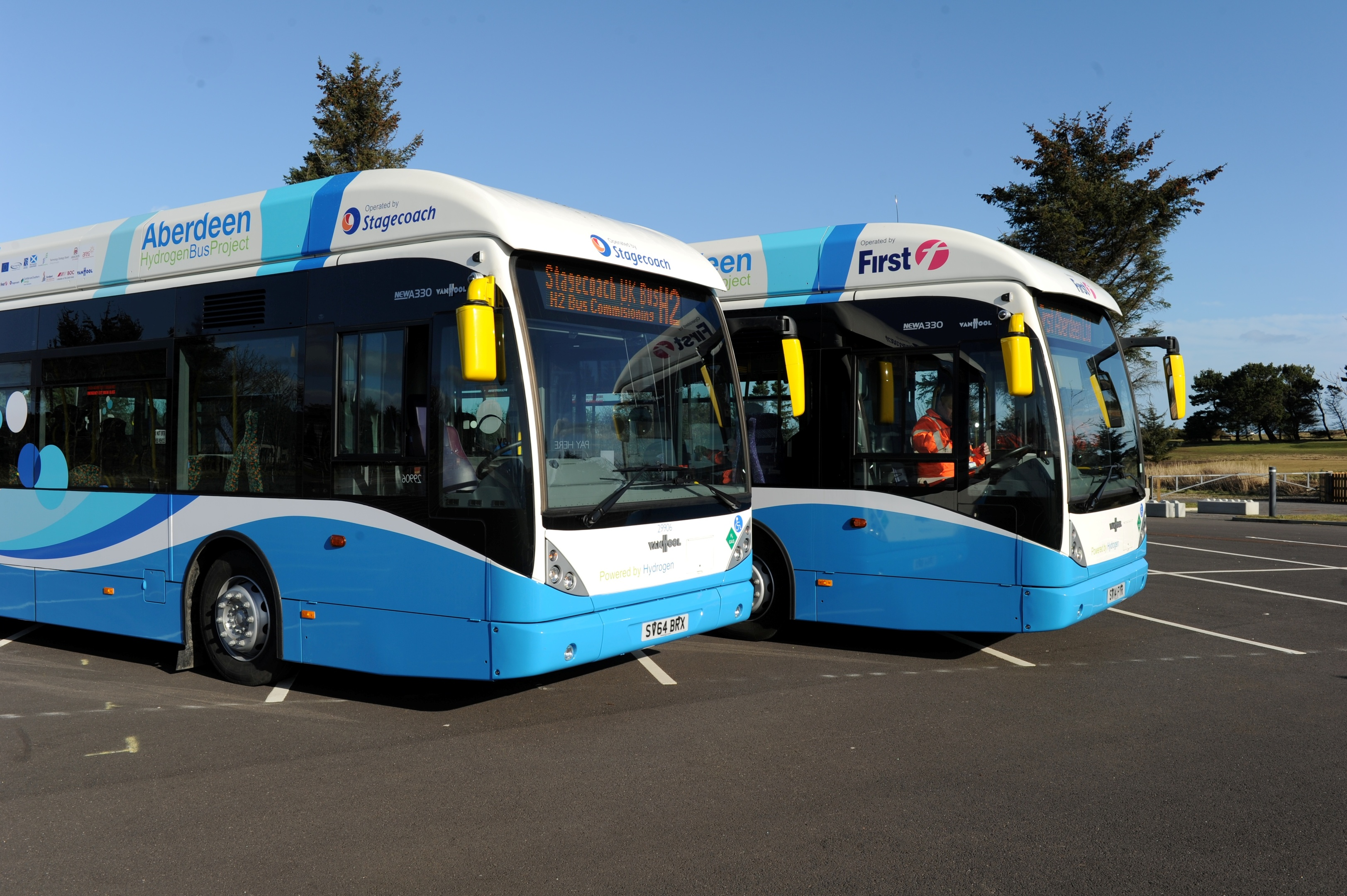 Aberdeen has a fleet of 10 hydrogen buses