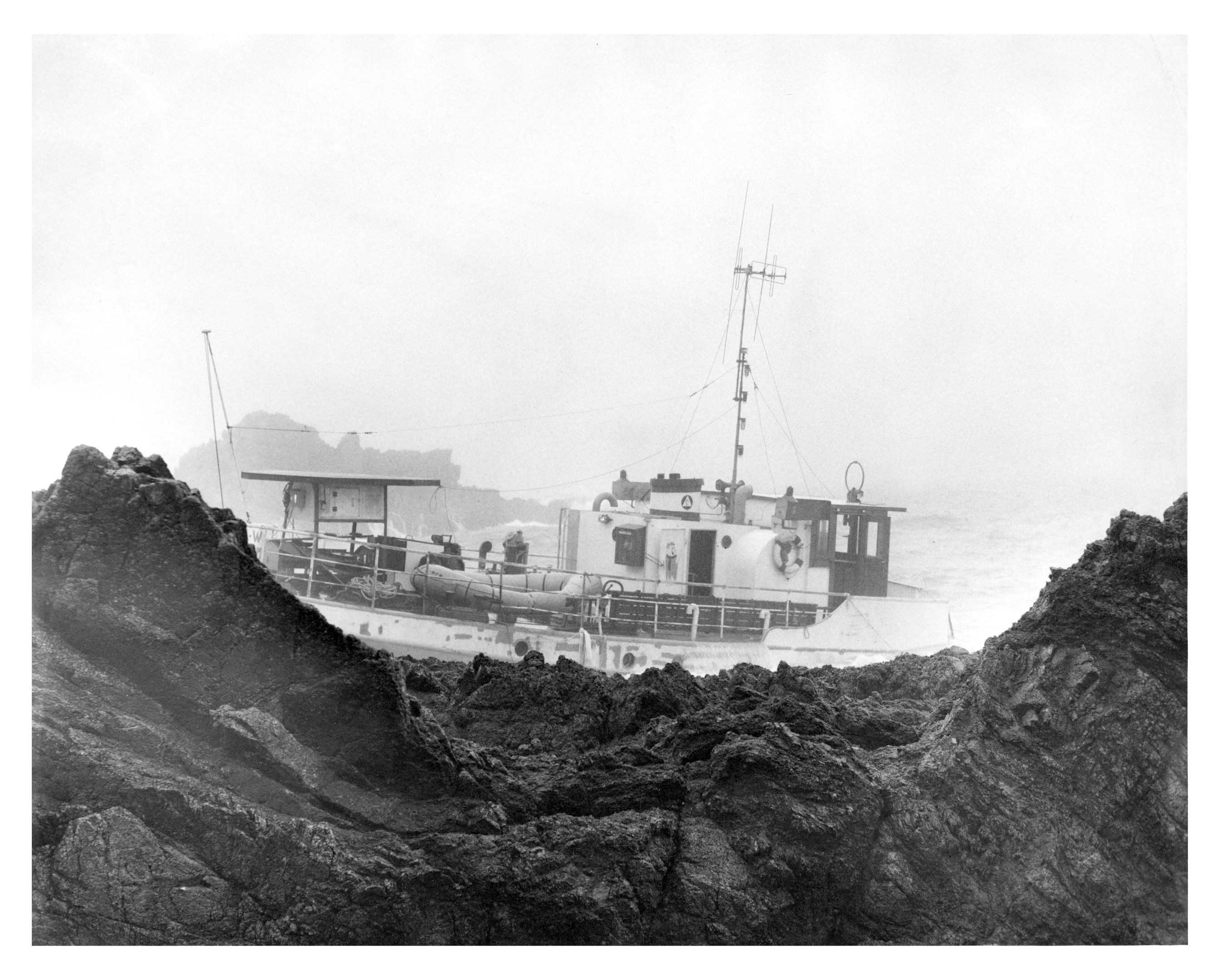 The Rotterdam coaster Maria W foundered on the Scaurs of Cruden,  eight miles south of Peterhead.