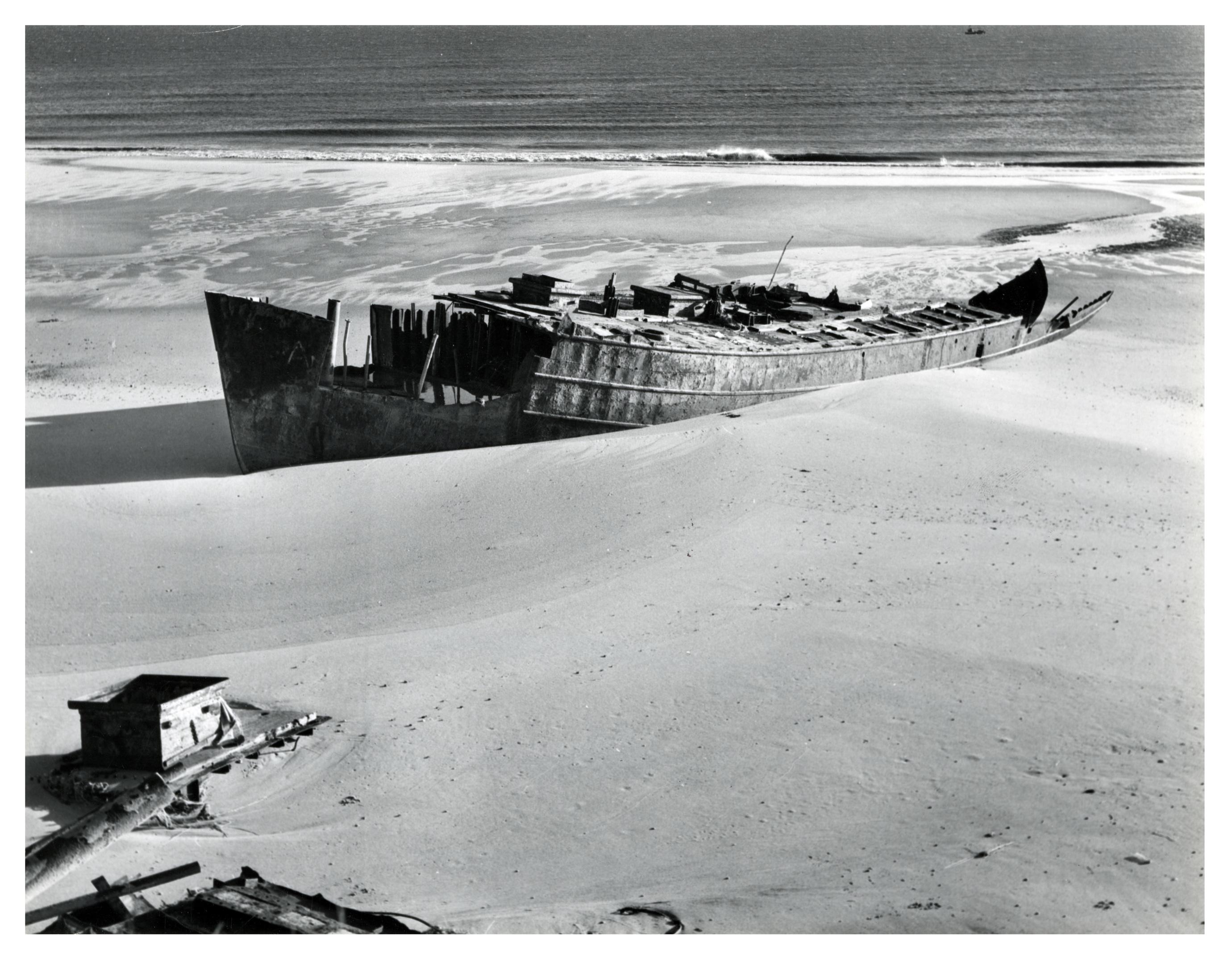 The Sheriffmuir ran aground on the beach alongside Murcar golf course.