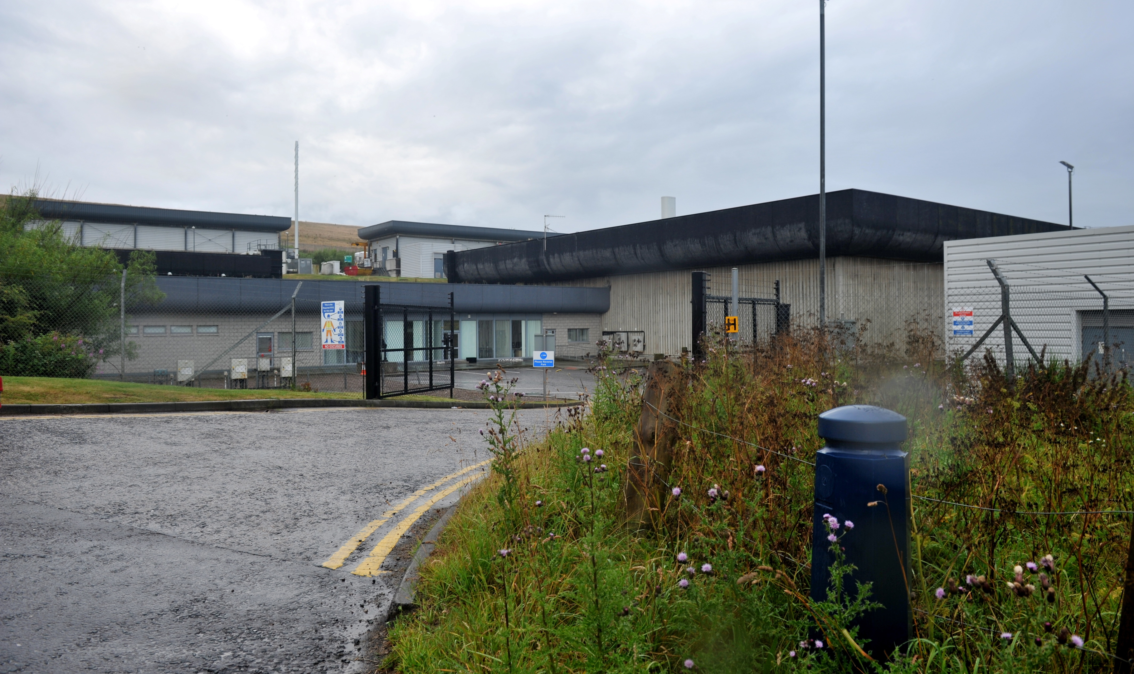 Nigg Waste Water Treatment Works in Torry has been linked with unpleasant smells in the community.