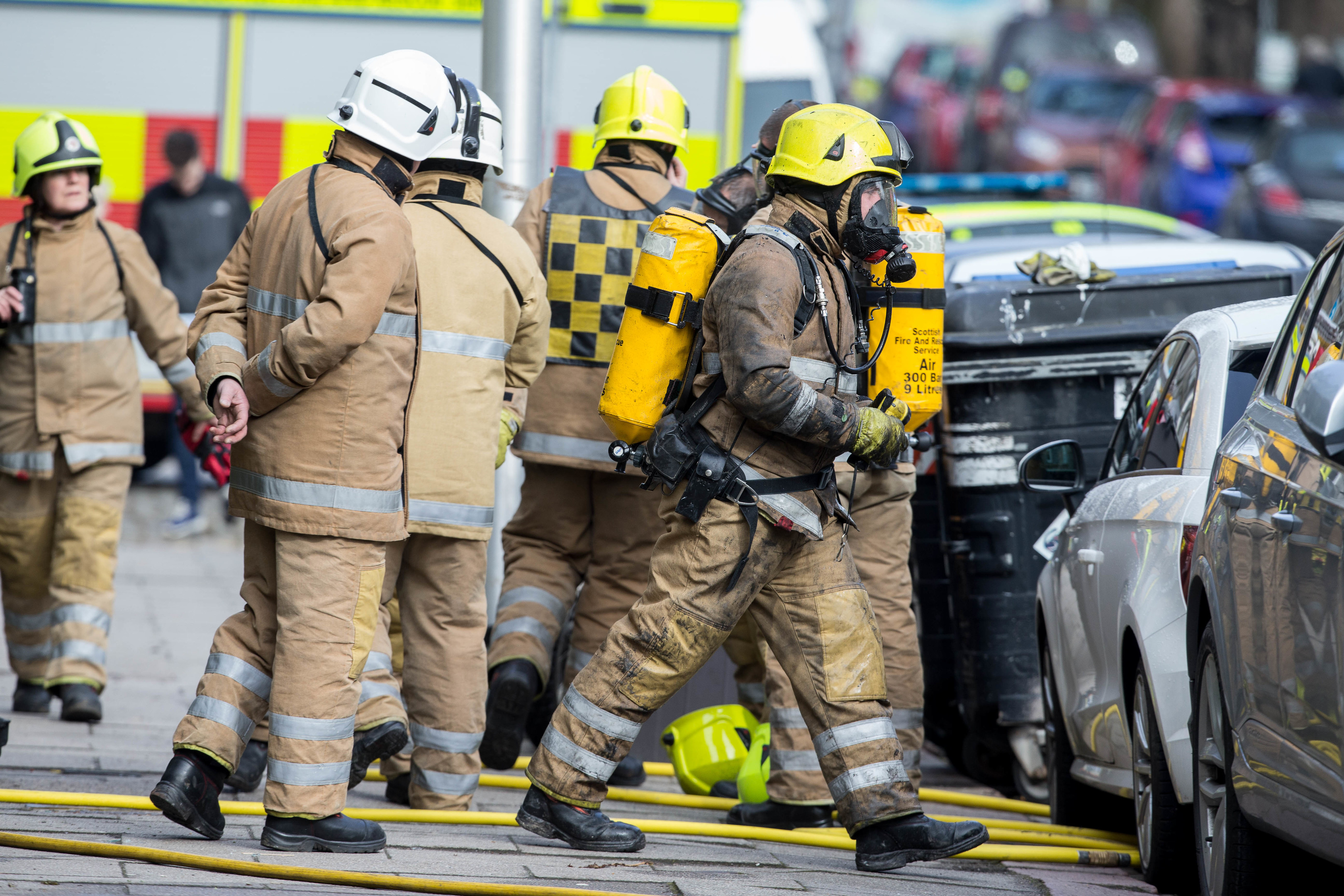 Incident:  A fire service report is to be considered.