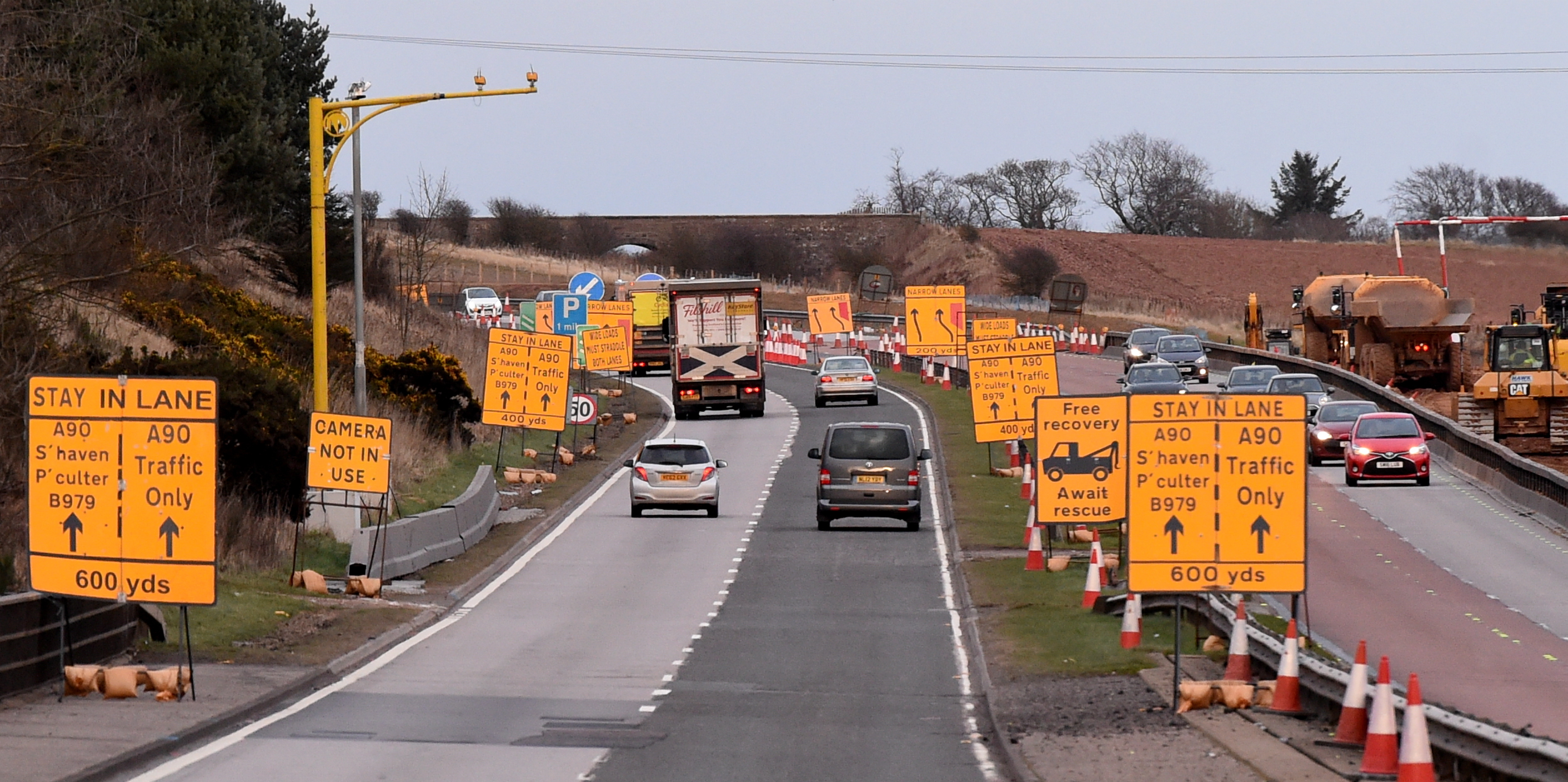 Average speed cameras are going live at Stonehaven.