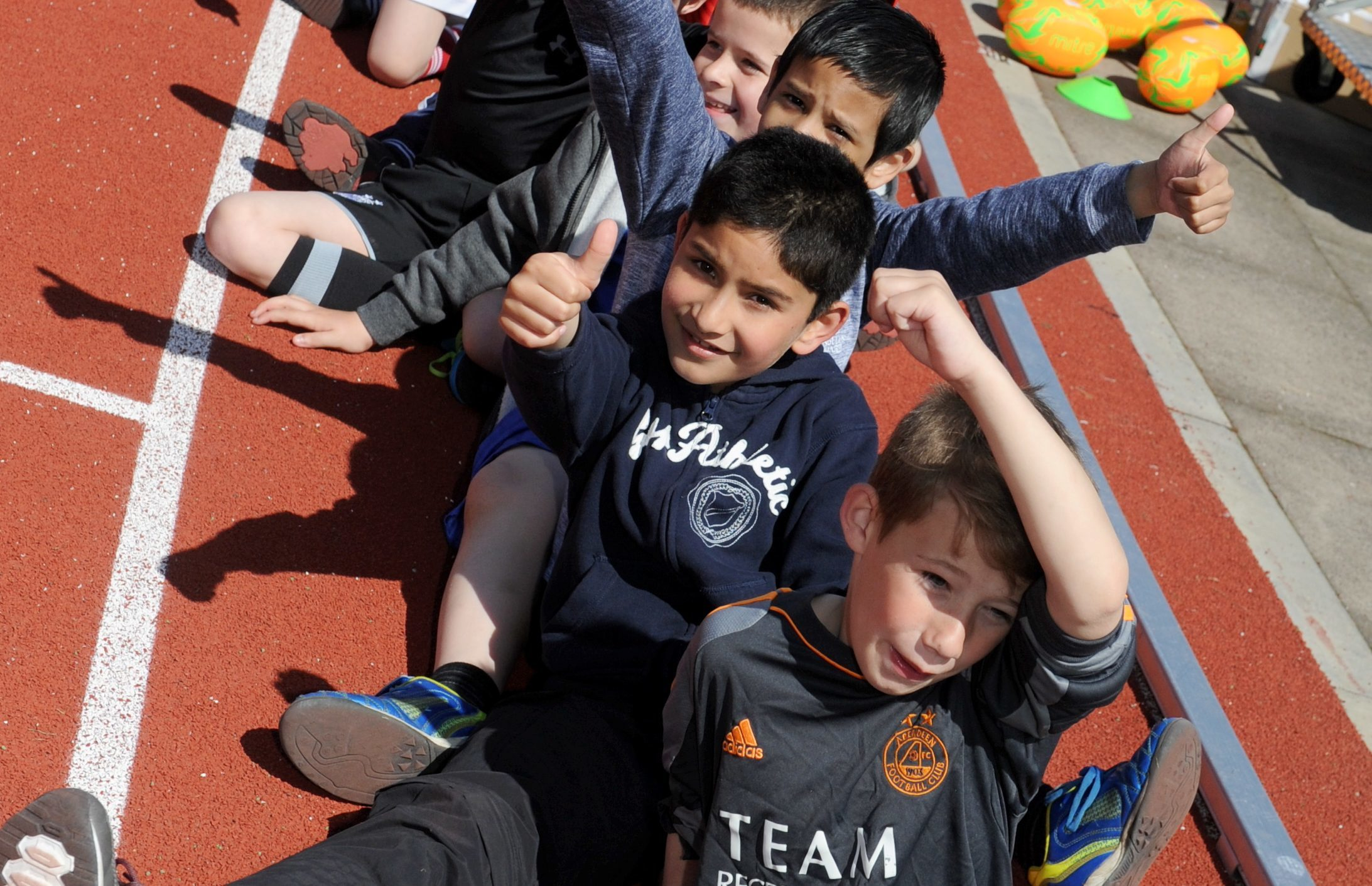 Some of the children taking part in last year's event.