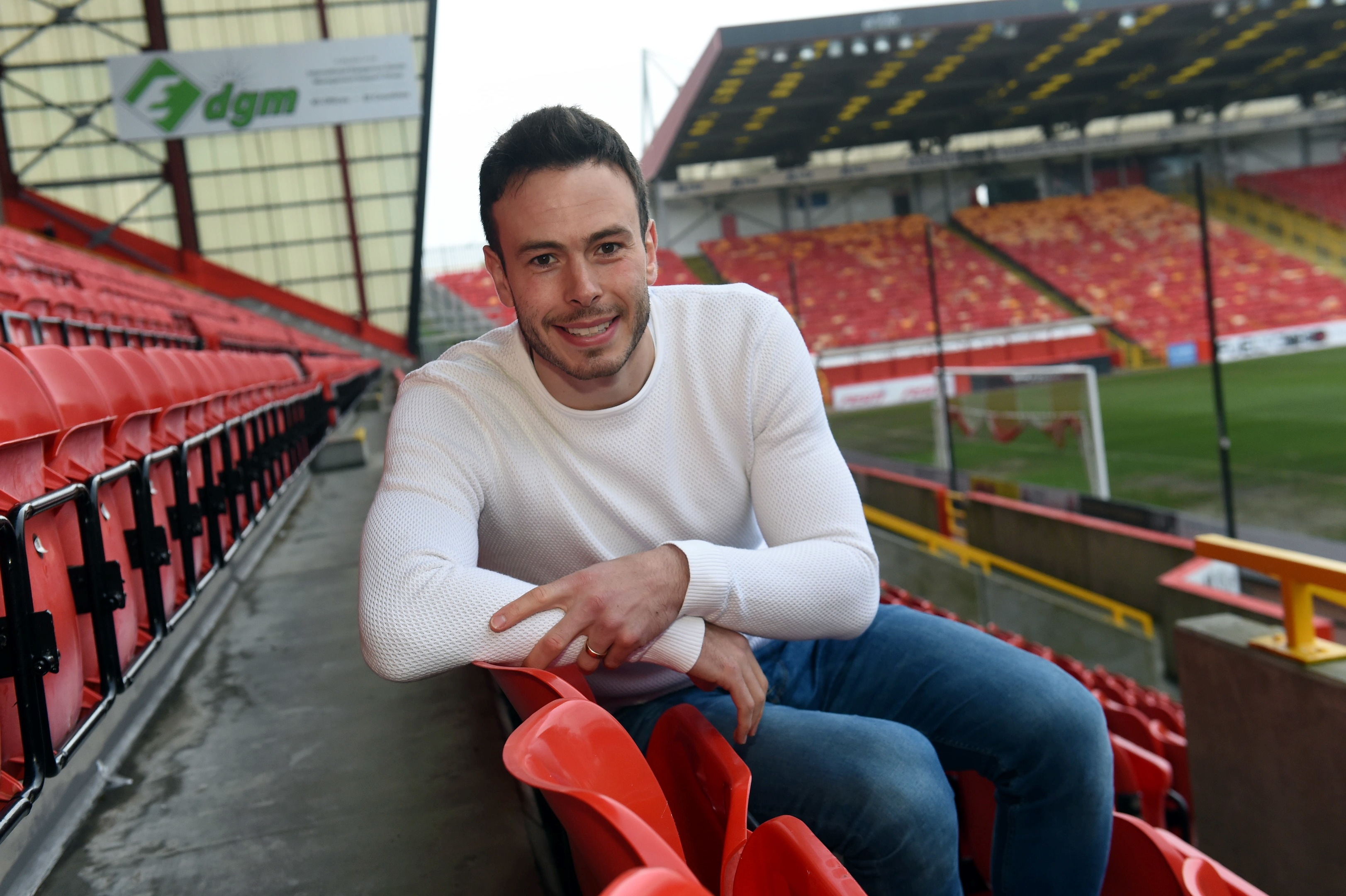 Andrew Considine could play his 383rd game for Aberdeen on Friday.