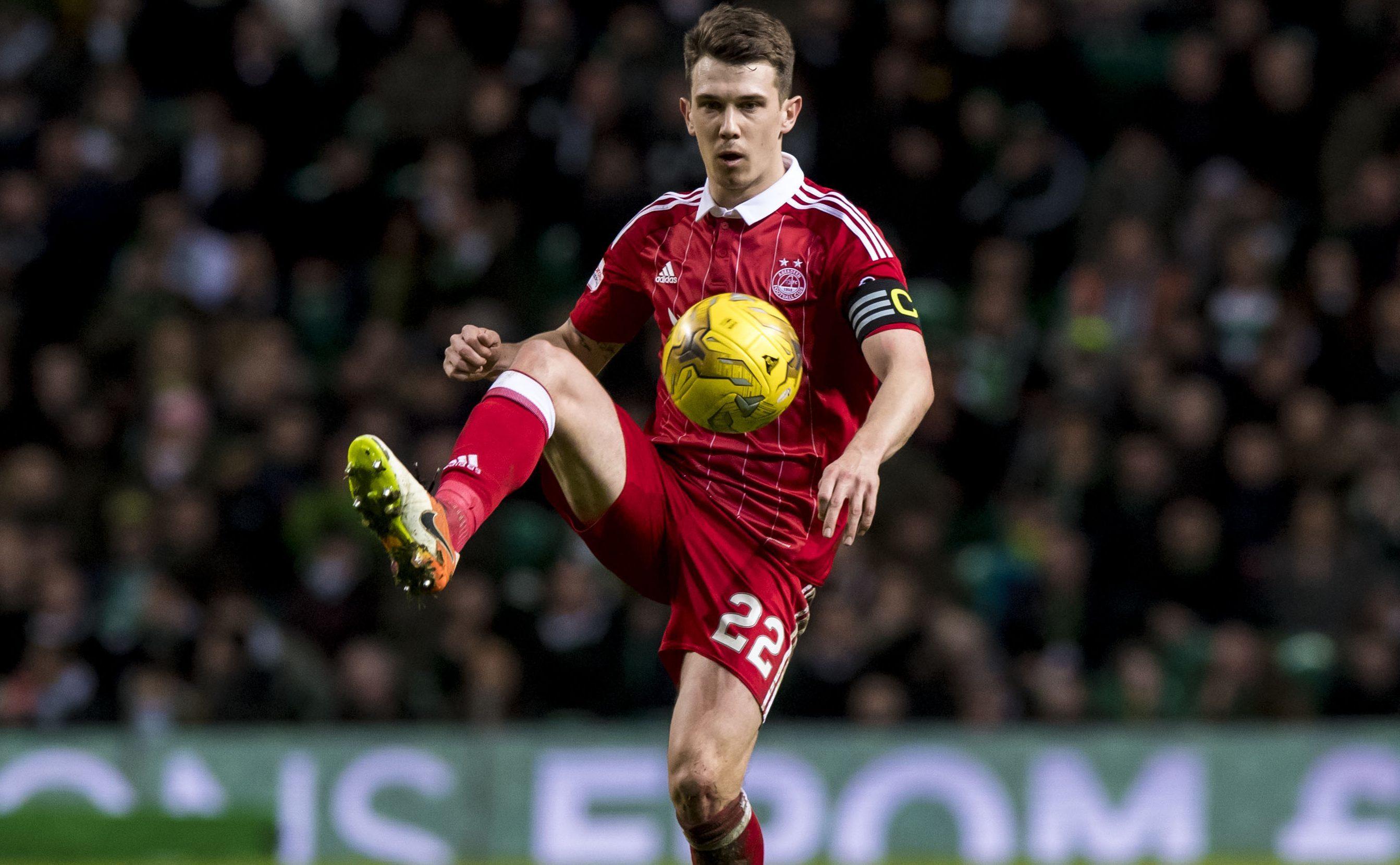 Aberdeen midfielder Ryan Jack.