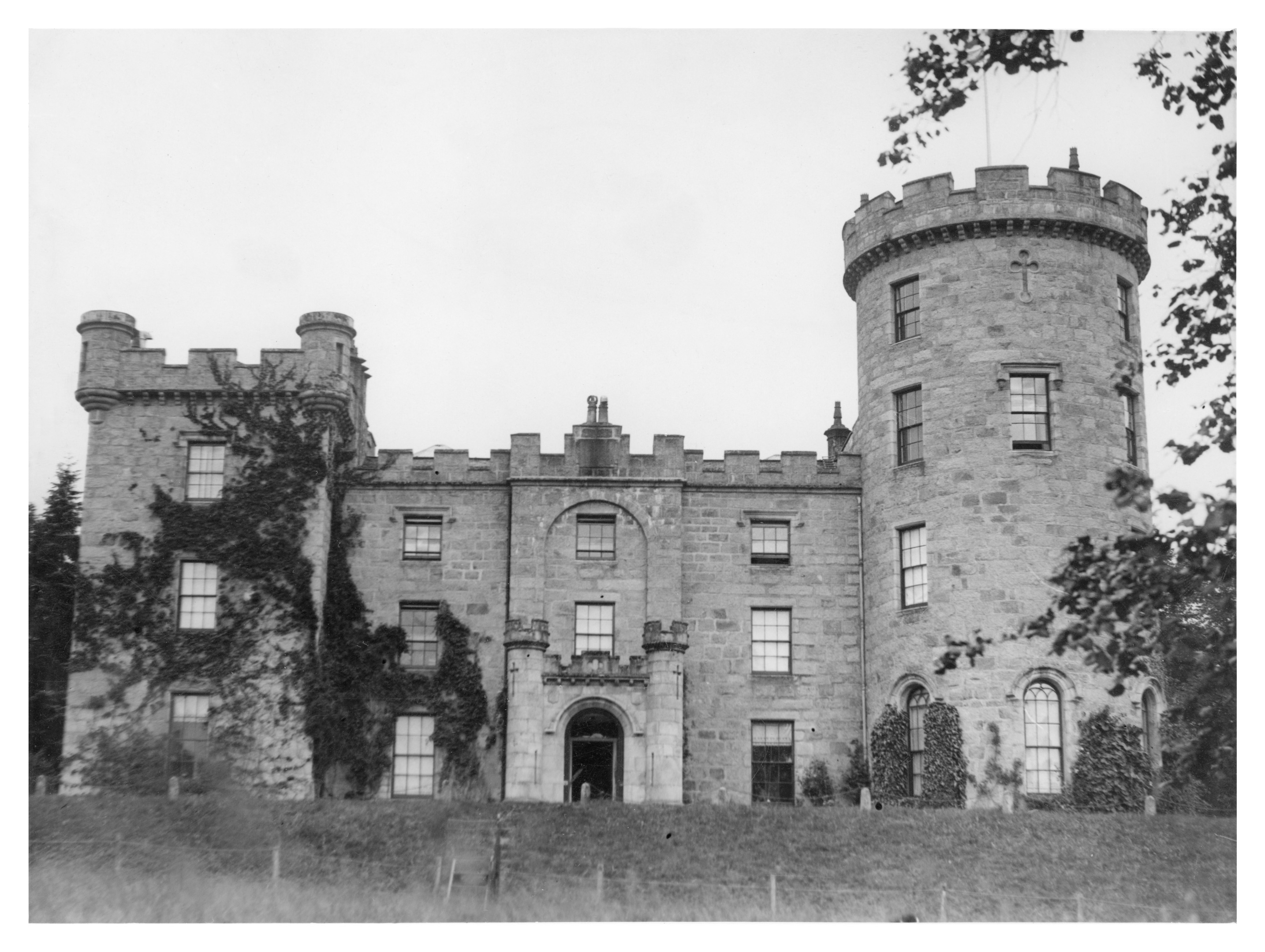 Castle Forbes near Alford, was built in the early 19th century, in the Scottish baronial style.