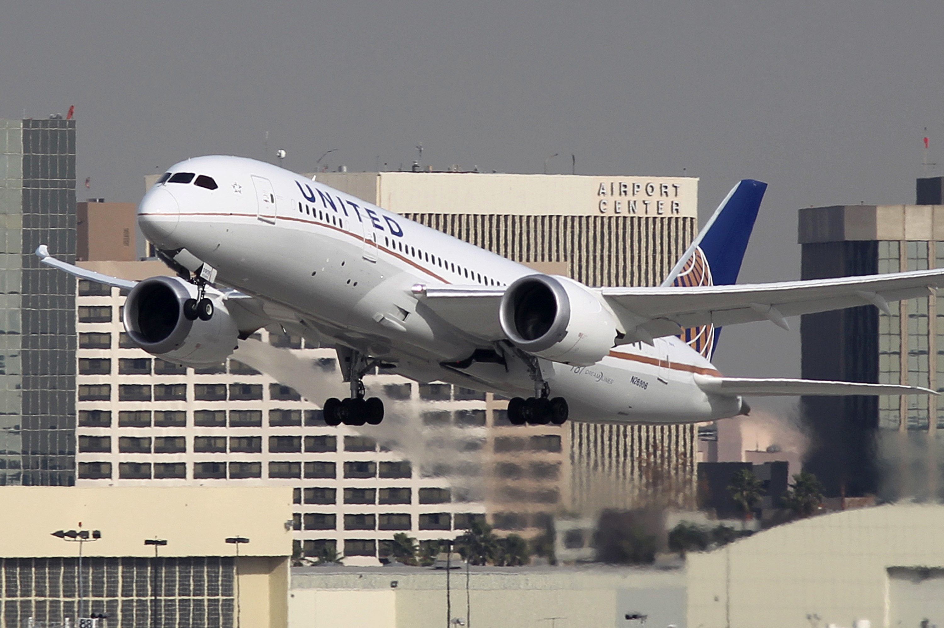 FALLING FOUL: United Airlines stirred up controversy when it stopped two female passengers in leggings from boarding a flight.