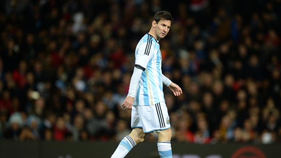 Argentina were without Lionel Messi in Bolivia.
