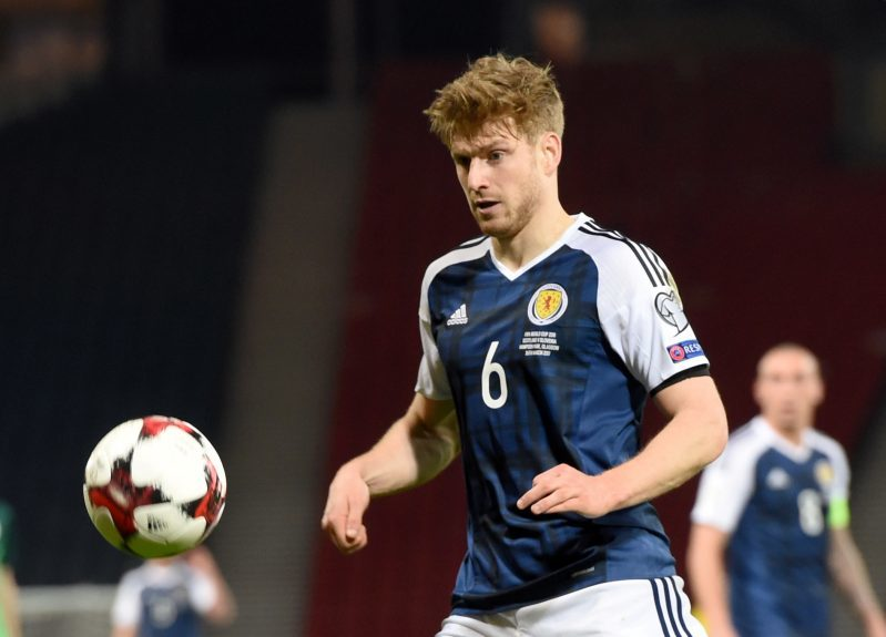 Scotland v Slovenia 2018 Fifa World Cup Qualifier Hampden Park, Glasgow Pictured is Scotland's Stuart Armstrong   Picture by DARRELL BENNS     Pictured on 26/03/2017