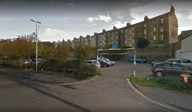 The incidents happened at Torry's Crombie Road car park. Picture: Google.