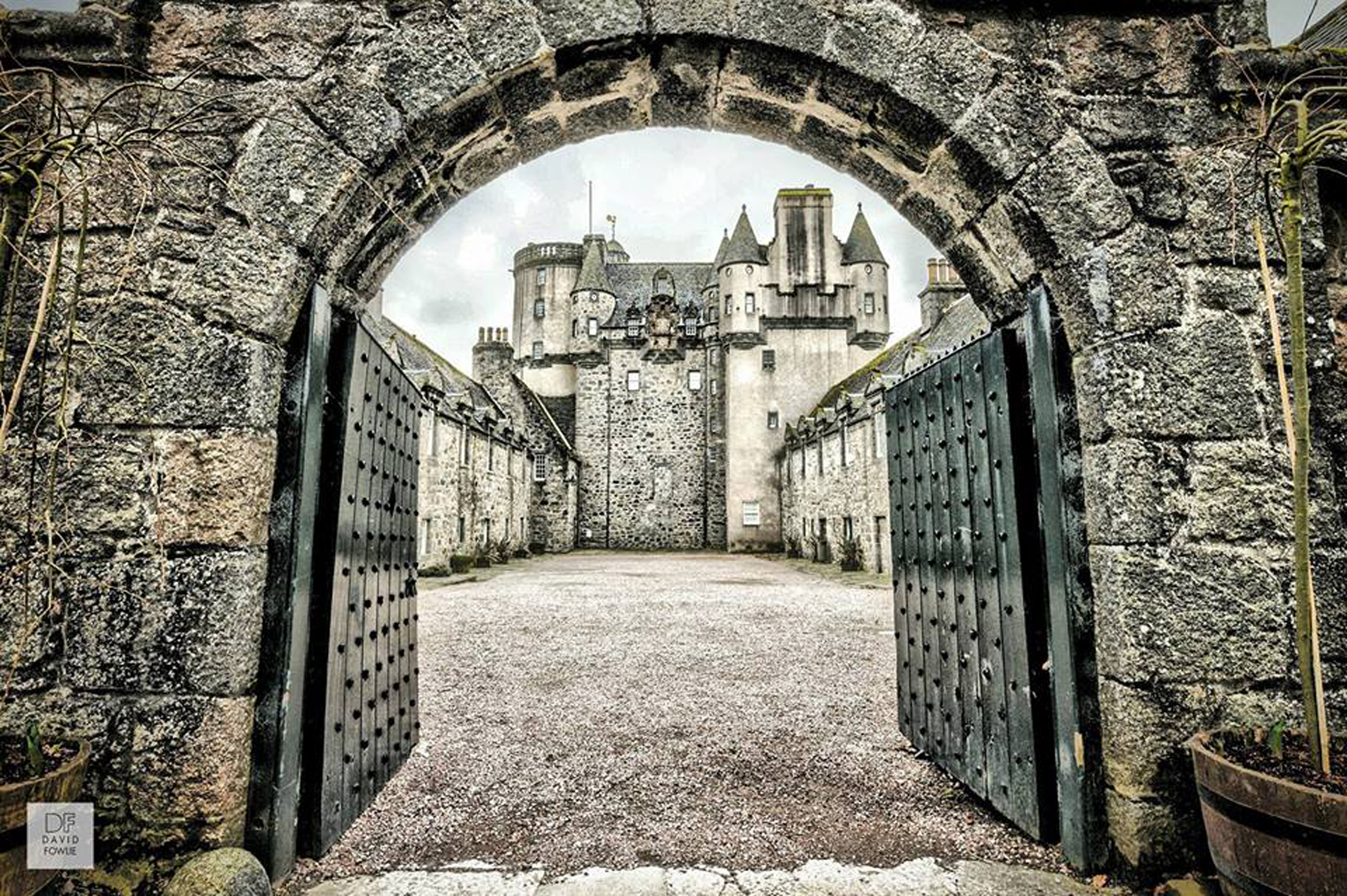 Castle Fraser opens this Easter. Picture by Dave Fowlie