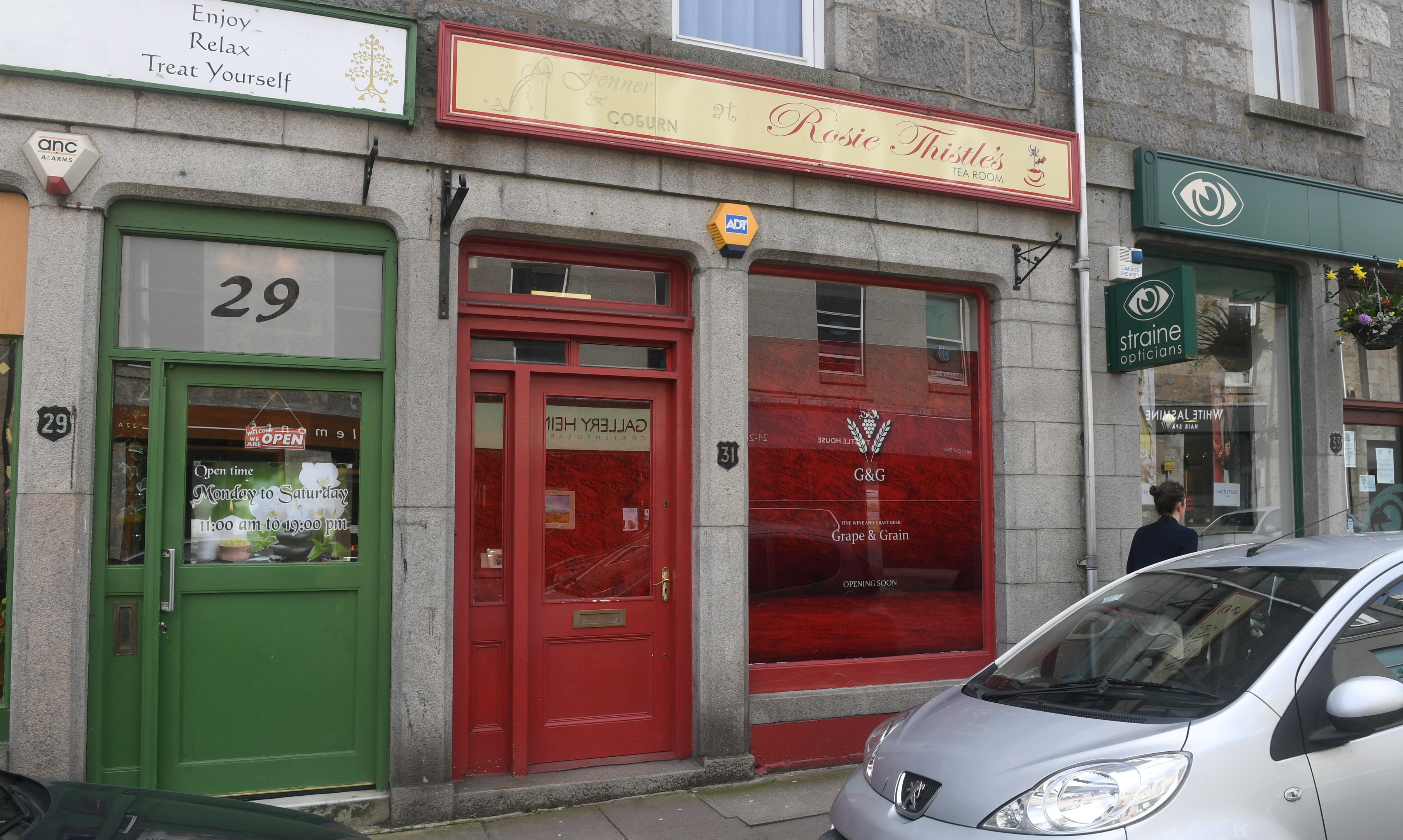 Grape and Grain will open in the shop which housed Rosie Thistle's Tea Room.