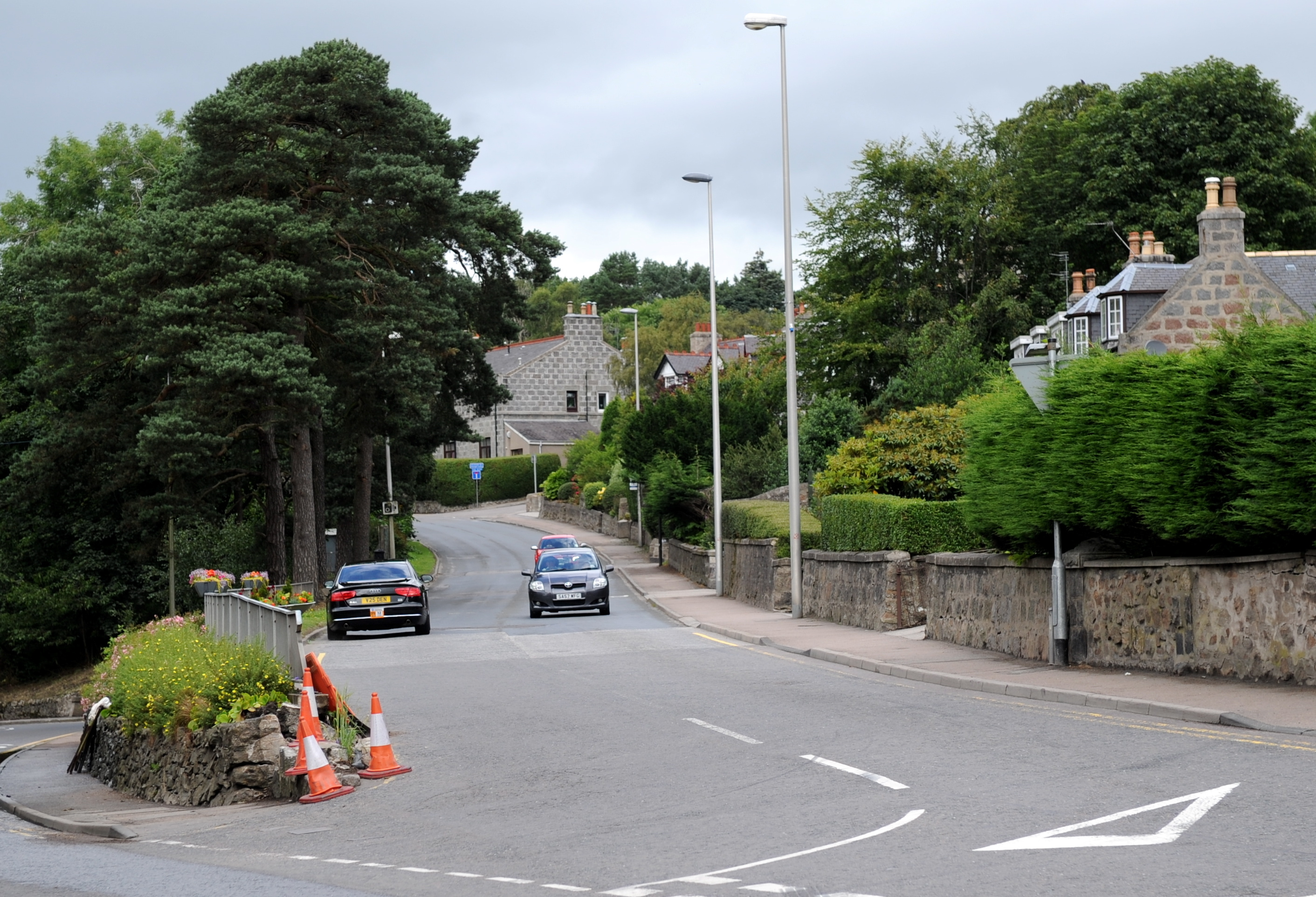 Malcolm Road in Peterculter is to be closed over two weekends.