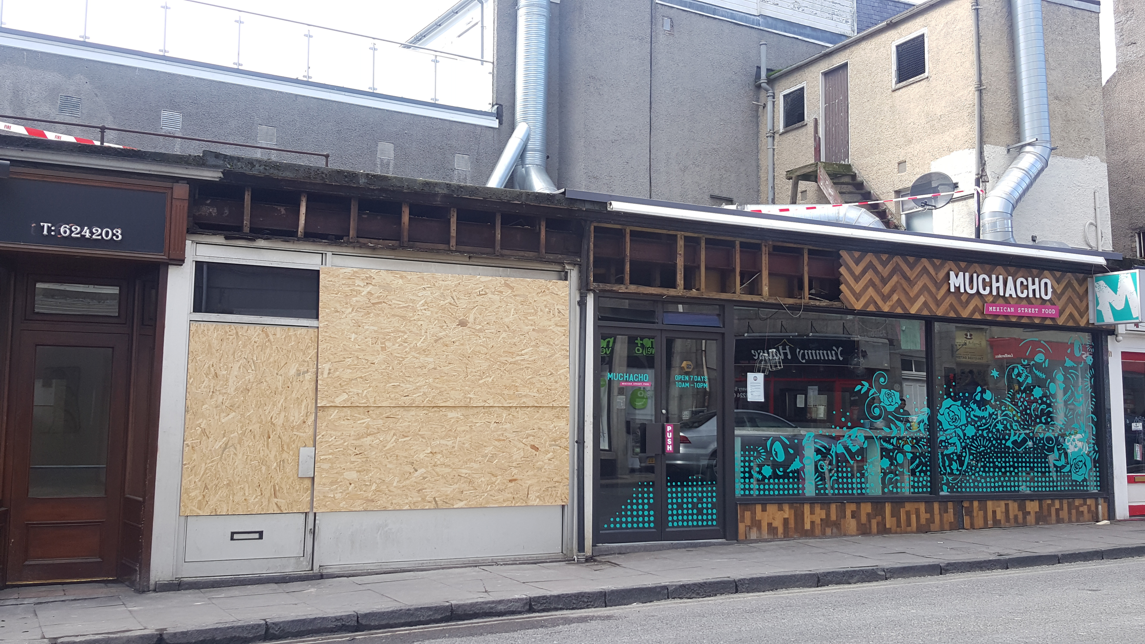 Muchacho is closed.