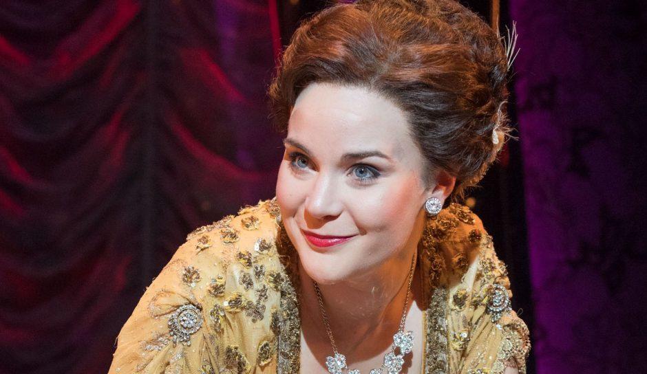 Natasha Barnes plays Fanny Brice.
