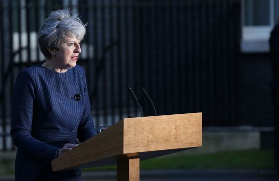 Prime Minister Theresa May made the announcement.
