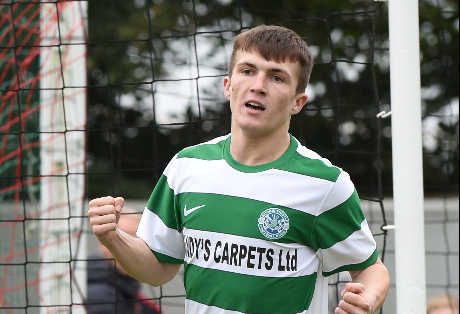Buckie Thistle midfielder Callum Murray.