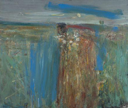 Flowers between Cornfields.