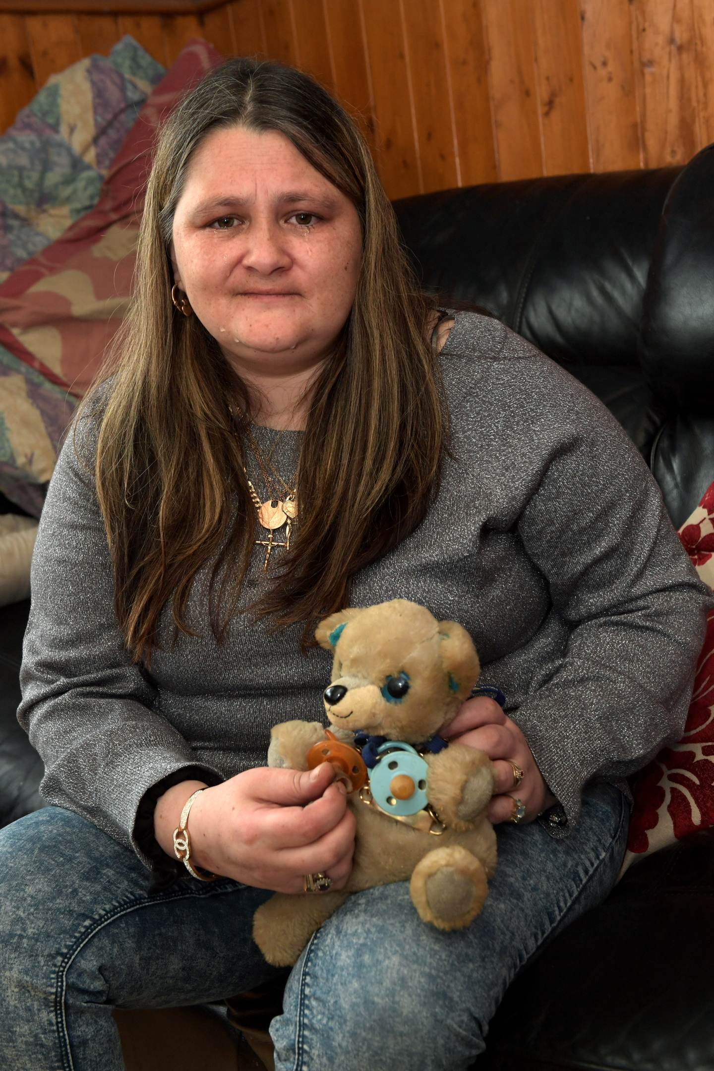 Luisza Flores still has nightmares over the incident which claimed son Preston's life.