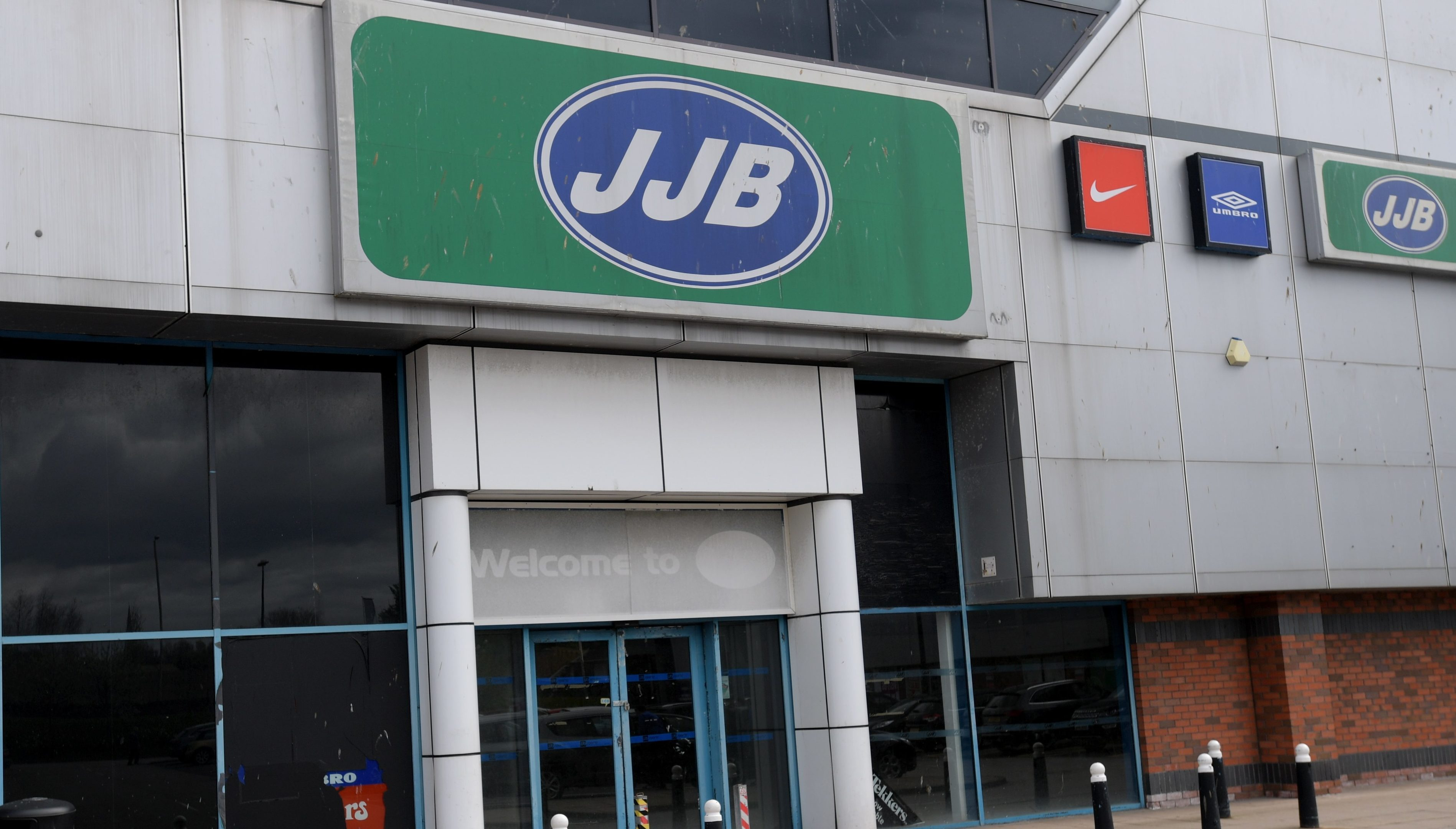 The former JJB store at Berryden Retail Park.