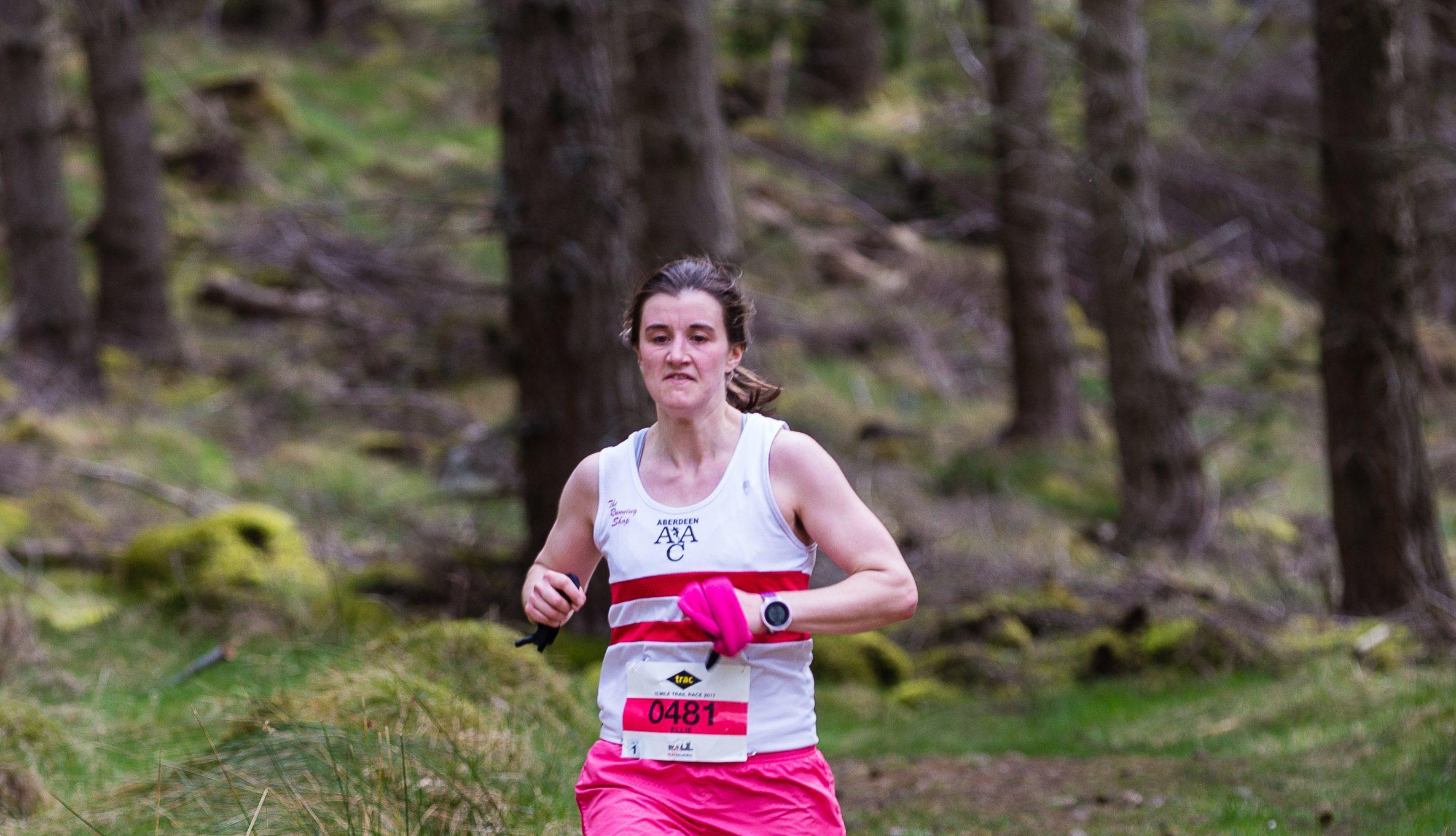 Aberdeen AAC runner  Ellie Buchan.