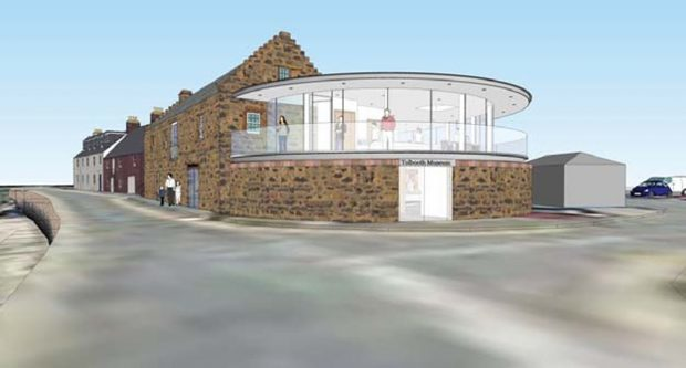 Artist impression images of how the extension could look.