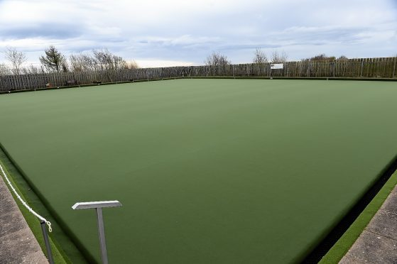 A bowling green