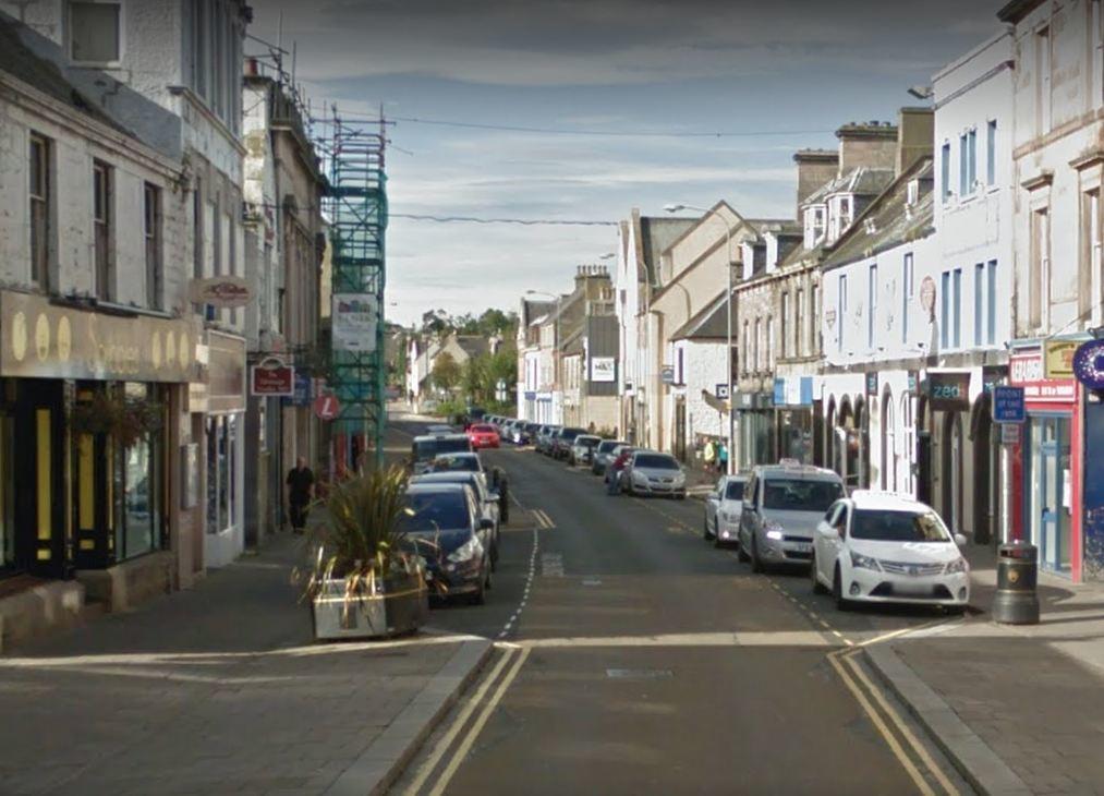 Elgin town centre. Picture: Google.