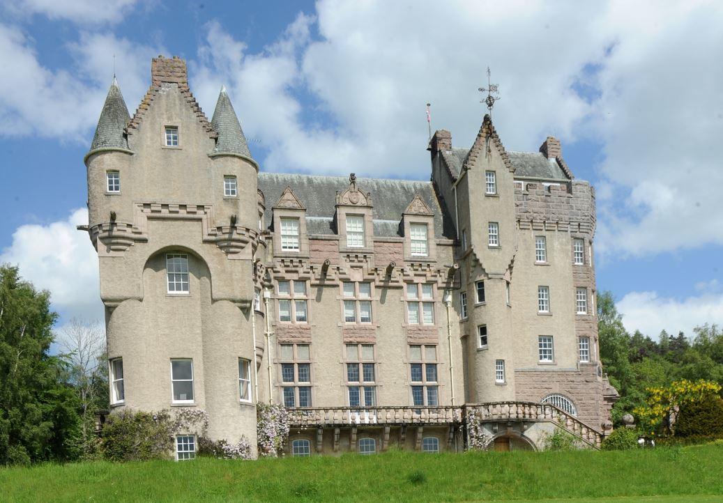 Kincardine Castle.