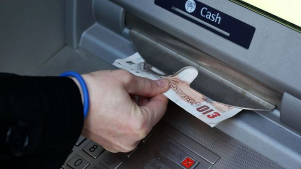 ATM usage in the north-east has dropped during the crisis