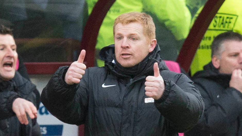 Neil Lennon reckons Hibs are the second-best team in Scotland - despite losing to Aberdeen on Saturday.