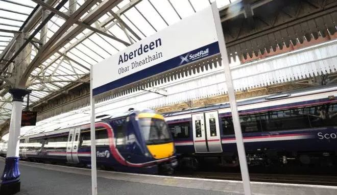 Services between Aberdeen and Dyce will be affected.