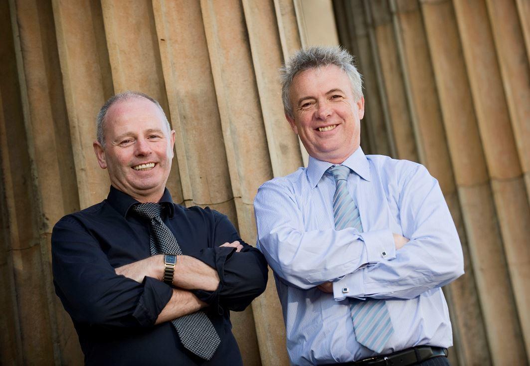 Stewart Milne, Chairman & Chief Executive, Stewart Milne Group and Glenn Allison, Group Managing Director, Stewart Milne Group