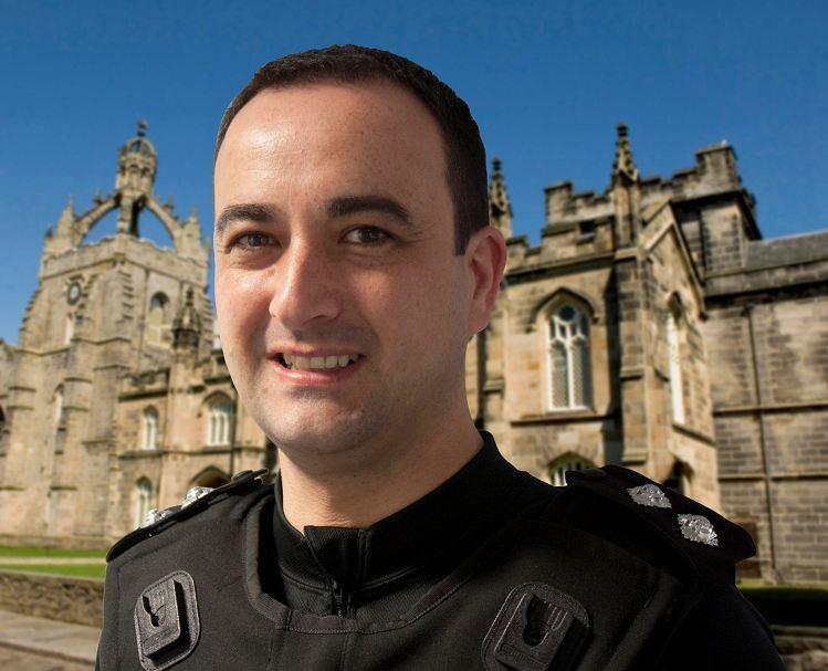 Inspector Darren Bruce.