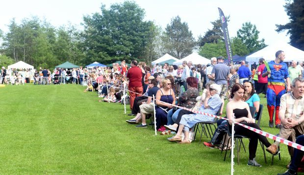 Crowds at a previous Culter Gala
