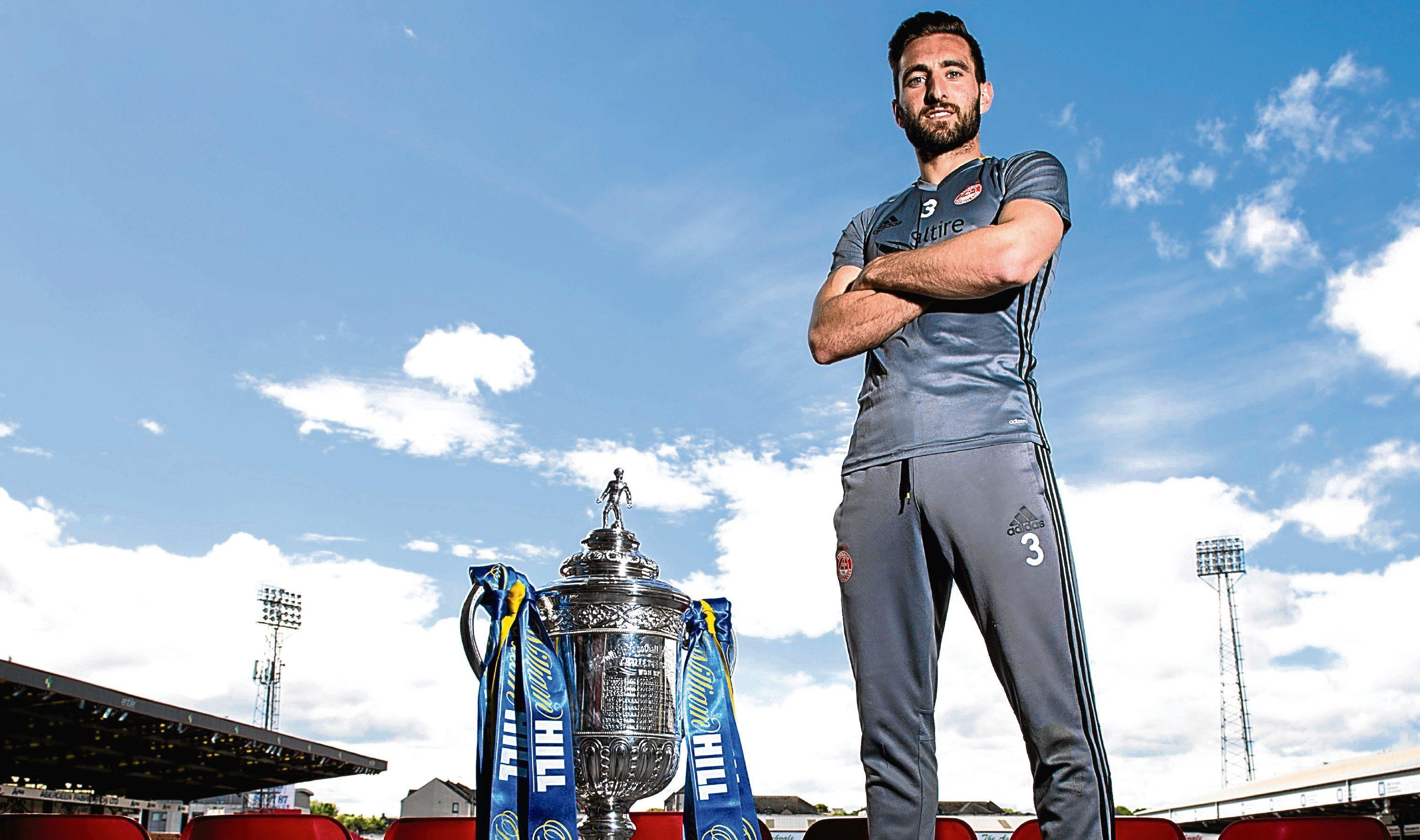 Aberdeen's Graeme Shinnie previews the William Hill Scottish Cup Final