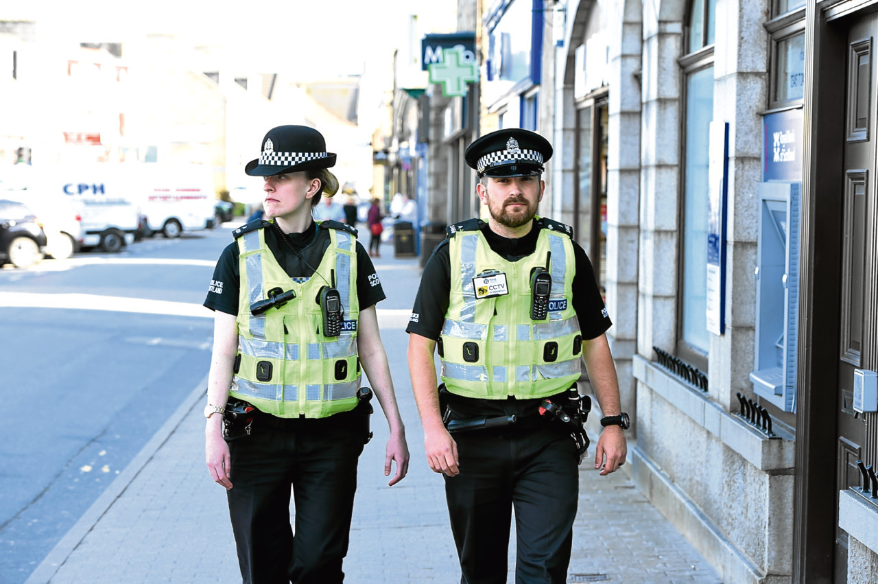 High-visibility patrols have been stepped up in Inverurie.