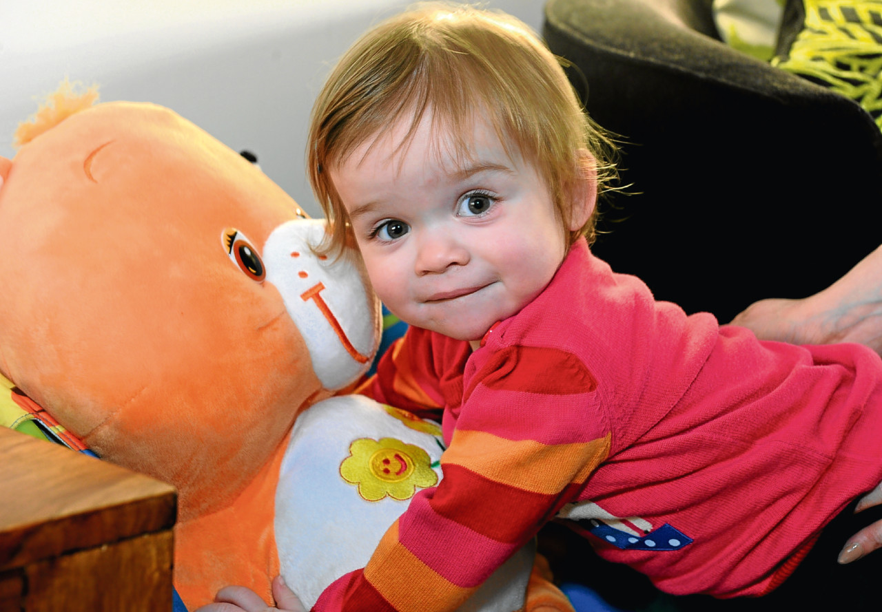 Little Kayleigh Cordiner died of a brain tumour in 2011.